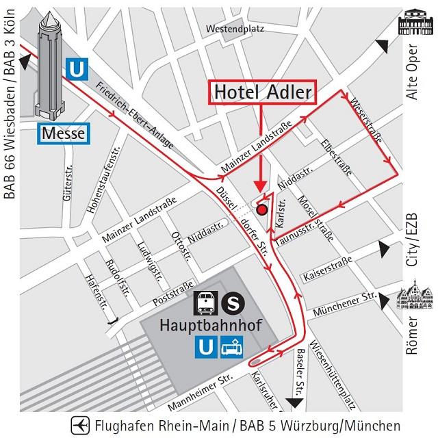 Adler Hotel Frankfurt Hotel Frankfurt